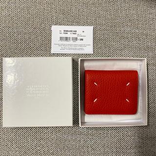 マルタンマルジェラ(Maison Martin Margiela)のMAISON MARGIELA 新品 ポッパー 二つ折りミニ財布(財布)