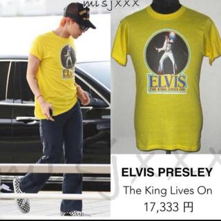 ピースマイナスワン(PEACEMINUSONE)のELVIS tシャツ(Tシャツ/カットソー(半袖/袖なし))