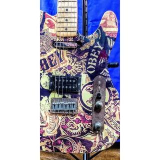 フェンダー(Fender)のSquier 錆 レリック加工 obey Graphic 限定生産 テレキャス(エレキギター)