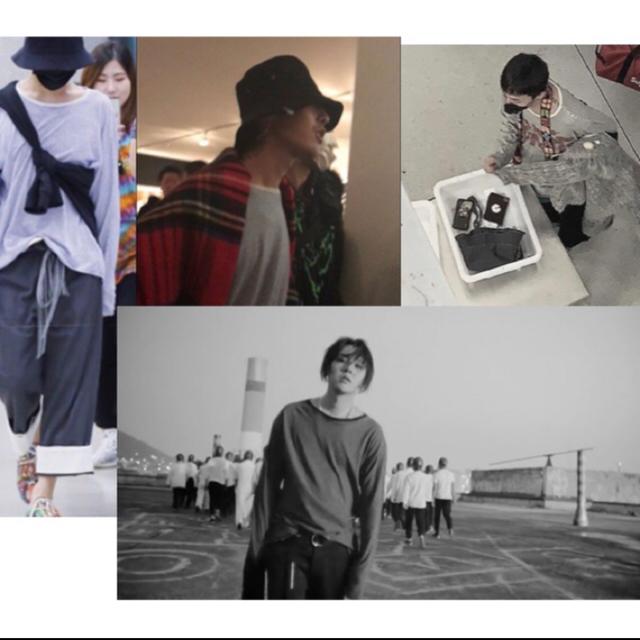 PEACEMINUSONE(ピースマイナスワン)の稀少 unused  border shirt black-white メンズのトップス(Tシャツ/カットソー(七分/長袖))の商品写真