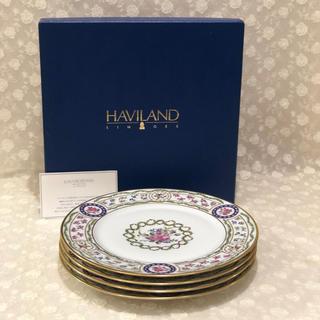 アビランド(Haviland)のアビランド リモージュ  ルーブシエンヌ 26㎝プレート 4枚☆(食器)