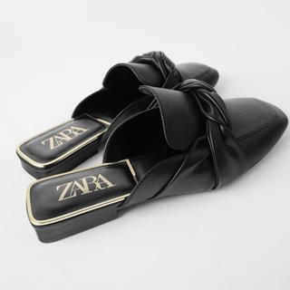 ザラ(ZARA)のZARA フラットミュール(ミュール)