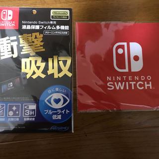 ニンテンドースイッチ(Nintendo Switch)のプレミアム ニンテンドースイッチ 保護シート switch(家庭用ゲーム機本体)