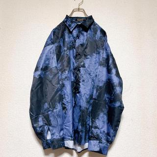 HARE - 総柄シャツ 韓国ファッション 柄シャツ 長袖シャツ asclo