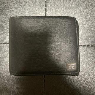 ポーター(PORTER)のPORTER ポーター メンズ 財布 ウォレット 2つ折り レザー 革(折り財布)