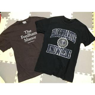 マウジー(moussy)のmoussy マウジー オーバーサイズ Tシャツ 2点セット アングリッド(Tシャツ(半袖/袖なし))
