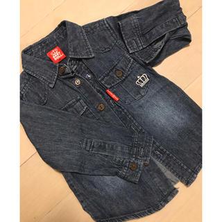 ベビードール(BABYDOLL)のベビードール  デニムシャツ 90(Tシャツ/カットソー)