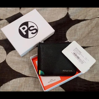 ポールスミス(Paul Smith)のPS PAUL SMITH  ポールスミス ストライプ 財布 箱等付属品付き新品(折り財布)