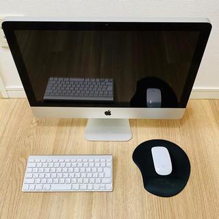 マック(Mac (Apple))のApple iMac 21.5インチ 2011(オフィス/パソコンデスク)