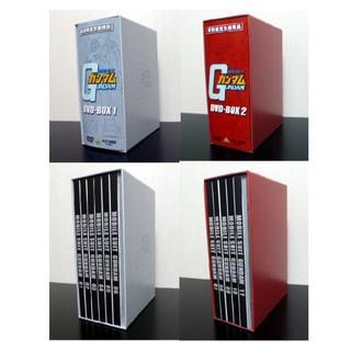 バンダイ(BANDAI)の機動戦士ガンダム DVD-BOX1,2 帯,ケース,ブックレットのみ(アニメ)
