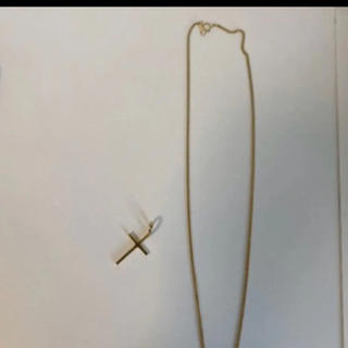 アヴァランチ(AVALANCHE)のavalanche ネックレストップのみ10k 50センチ ゴールド(ネックレス)