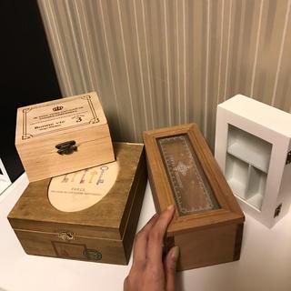木箱 箱 小物入れ ケース 入れ物 アンティーク 雑貨(小物入れ)
