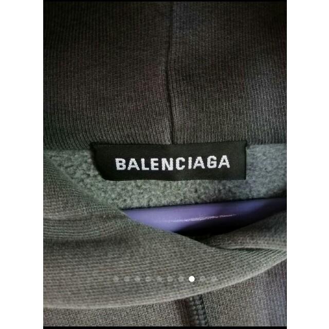 Balenciaga(バレンシアガ)の木村拓哉着♥BALENCIAGA元11万弱ビッグパーカー y3 ヨウジ Dior メンズのトップス(パーカー)の商品写真