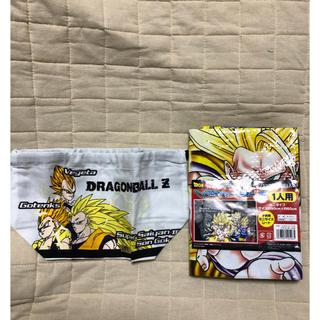 ドラゴンボール(ドラゴンボール)のドラゴンボール お弁当袋+レジャーシート(弁当用品)