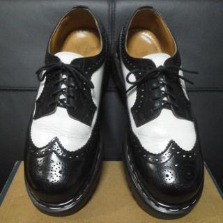 ドクターマーチン(Dr.Martens)の【激レア】Dr.Martens 英国製 3989BEX UK8 黒白 厚底(ブーツ)