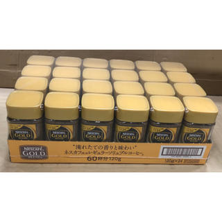 Nestle - ダイアナ様専用 ネスカフェ ゴールドブレンド 120g 24本セット