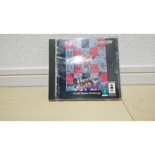 パナソニック(Panasonic)の3DO ストリートファイター2X 送料無料(家庭用ゲームソフト)