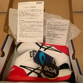 asics - 26.5cm. アシックス 安全靴 BOA  CP304  ホワイト×ブラック