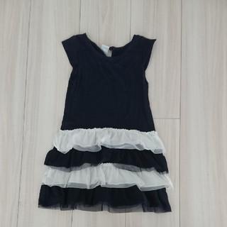 プチバトー(PETIT BATEAU)の子供服ワンピース(ワンピース)