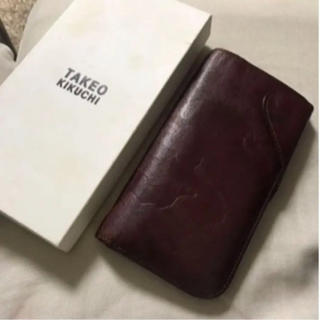 タケオキクチ(TAKEO KIKUCHI)の長財布(長財布)