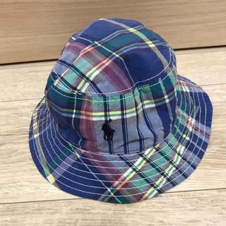 ラルフローレン(Ralph Lauren)のラルフローレン リバーシブル 帽子 男の子 美品(帽子)