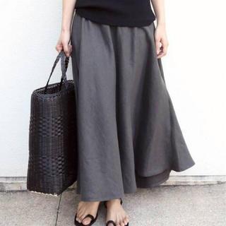DEUXIEME CLASSE - 新品☆Deuxieme Classe☆アササルファーゾメスカート☆グレー38