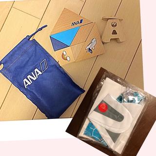 エーエヌエー(ゼンニッポンクウユ)(ANA(全日本空輸))のANA 知恵玩具 おもちゃ 積み木 パズル(知育玩具)