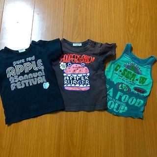 アンパサンド(ampersand)のTシャツ など   90  3枚セット(Tシャツ/カットソー)