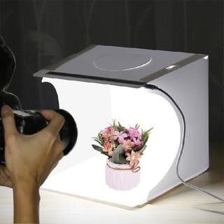 撮影ボックス カメラ写真撮影用 ライト付き