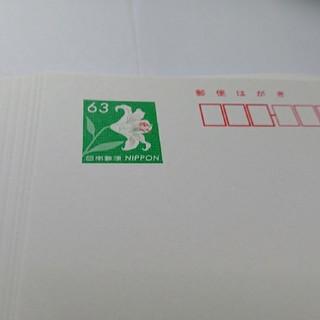 郵便はがき10枚(使用済み切手/官製はがき)