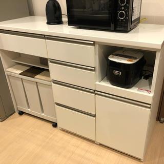 [値下げ]ニトリ 食器棚 美品(キッチン収納)