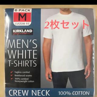 コストコ(コストコ)のコストコ カークランド Tシャツ Mサイズ 2枚(Tシャツ/カットソー(半袖/袖なし))