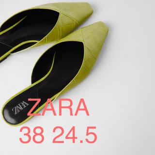 ZARA - タグ付 ZARA ミュール 38 24.5