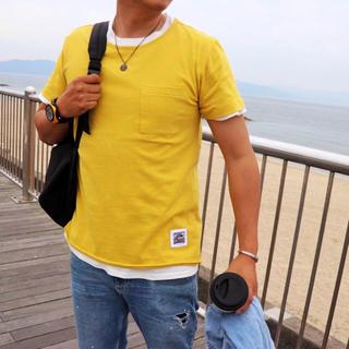 アメリカンラグシー(AMERICAN RAG CIE)の夏コーデ☆LUSSO SURF wave patch TシャツMサイズ☆RVCA(Tシャツ/カットソー(半袖/袖なし))