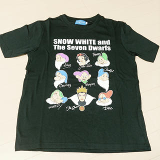 Disney - 白雪姫 ロゴ Tシャツ 七人の小人 ディズニーリゾート 限定