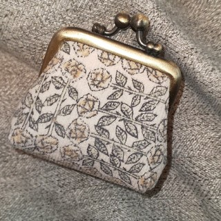 ミナペルホネン(mina perhonen)のミナペルホネン、ガマ口ミニ財布(財布)