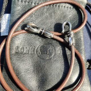 ロンワンズ(LONE ONES)のロンワンズ レザーネックレス Lサイズ 正規品 美品(ネックレス)