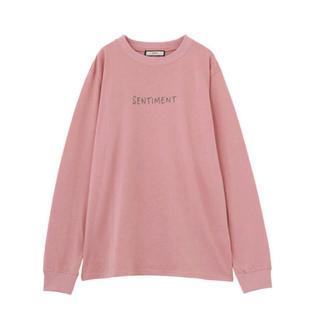 ジュエティ(jouetie)のステッチロゴロンT(Tシャツ/カットソー(七分/長袖))