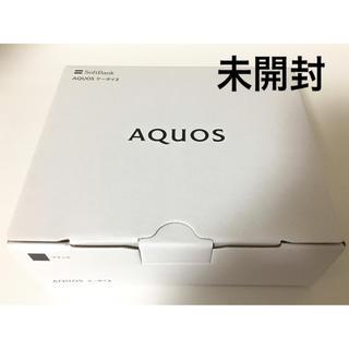 アクオス(AQUOS)のソフトバンク AQUOSケータイ3(805SH)ブラック アクオスケータイ3 (携帯電話本体)