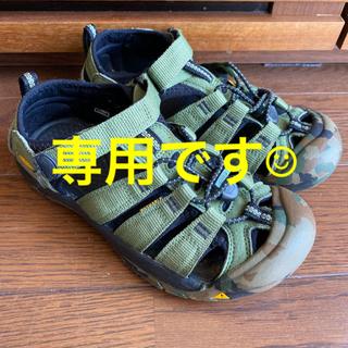 KEEN - キーン ジュニア サンダル22センチ