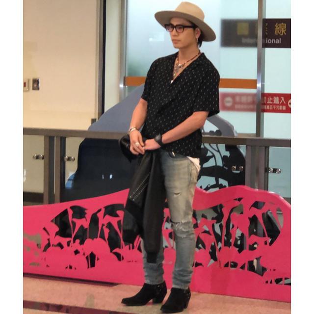 登坂着用 セリーヌ 20ss リングブーツ 正規品 エディ メンズの靴/シューズ(ブーツ)の商品写真