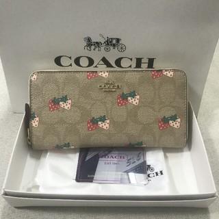コーチ(COACH)の新品 COACH 超人気 長財新品 F98126(長財布)