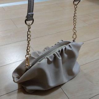 シマムラ(しまむら)の未使用品◆アベイル ギャザーショルダーバッグ(ショルダーバッグ)