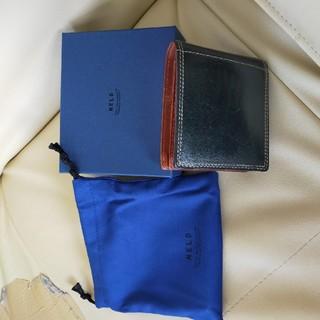 ★箱付き★ ネルド プエブロレザー 二つ折り財布(折り財布)