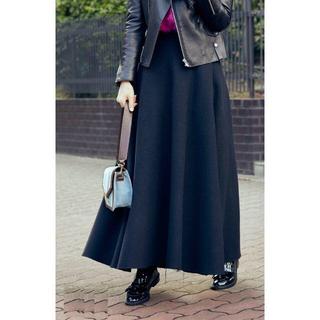 デミルクスビームス(Demi-Luxe BEAMS)のATON メルトン スカート (ロングスカート)