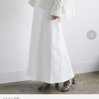 ガリャルダガランテ(GALLARDA GALANTE)のガリャルダガランテ デニムロングスカート 今年購入(ロングスカート)
