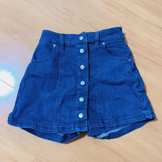 ウィゴー(WEGO)のWEGO 台形スカート キュロット ショートパンツ デニム(キュロット)