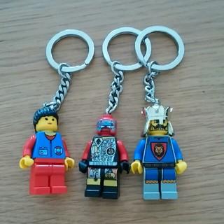 レゴ(Lego)のLEGOキーホルダー3個セット(その他)