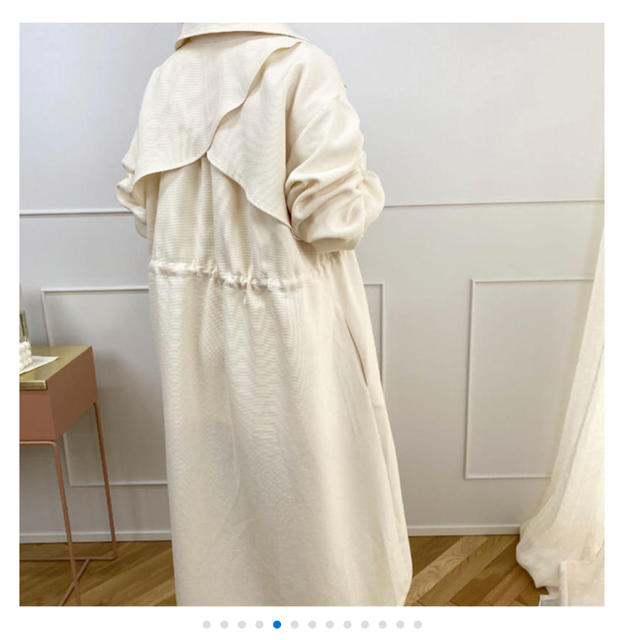 TODAYFUL(トゥデイフル)のkae bonny♡ミルキートレンチコート レディースのジャケット/アウター(トレンチコート)の商品写真
