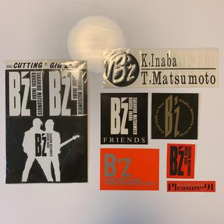 ビーズ(be-s)のB'z シール ステッカー セット(ミュージシャン)